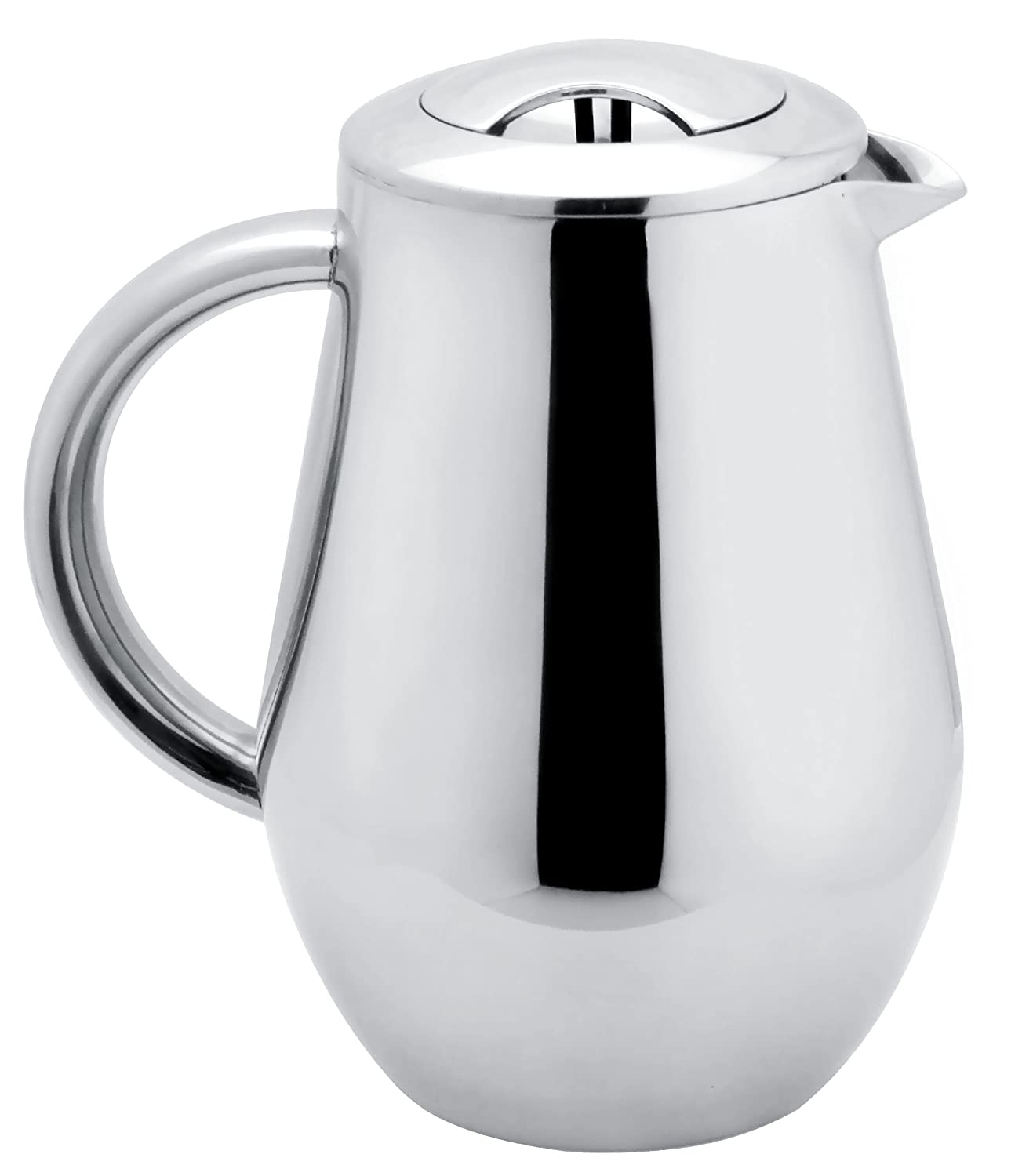SterlingPro Classic European Style Double wall Stainless Steel French Coffee Press