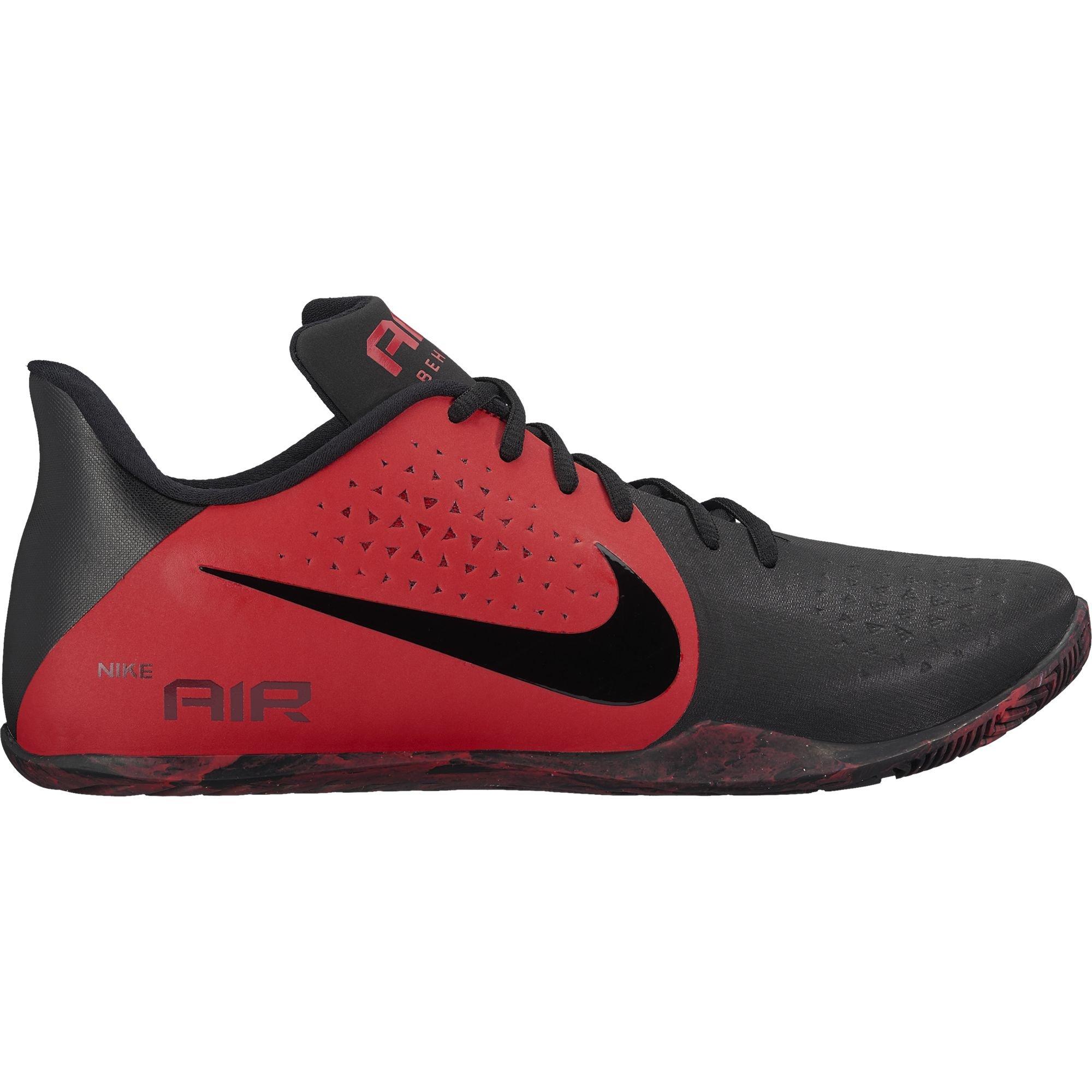 9b19da7d0de9 Galleon - NIKE Men s Air Behold Low Basketball Shoe University Red Black Size  14 M US