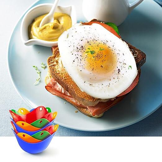 Amazon.com: Paquete de 8 huevos de caca con anillo de huevo ...