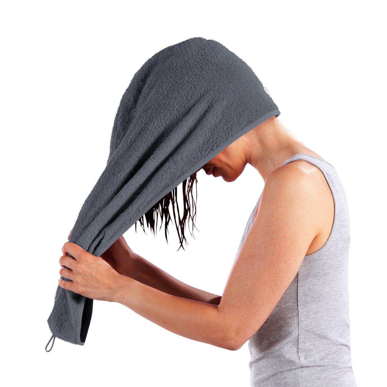 Erwin Müller towel turban white size 28x70 cm
