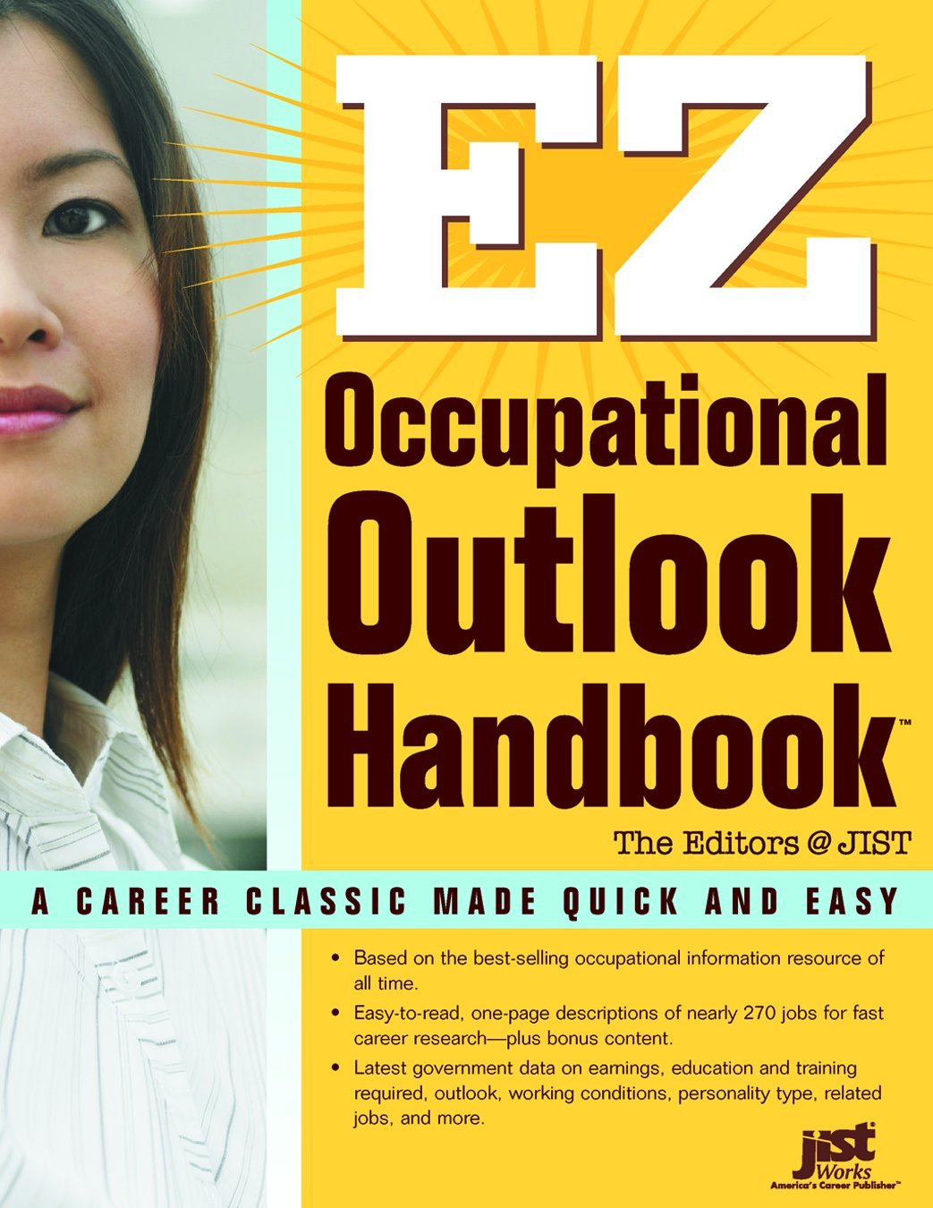 ez occupational outlook handbook jist publishing jist ez occupational outlook handbook jist publishing jist 9781593574321 com books