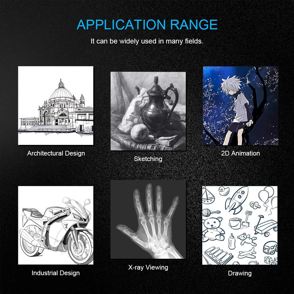 A3 Tableta Gráfica Digital For Almohadilla De Dibujo Pintura ...