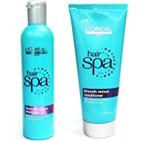 Loreal Hair Spa Smooth Revival Shampoo & Conditioner (Pack of 2)