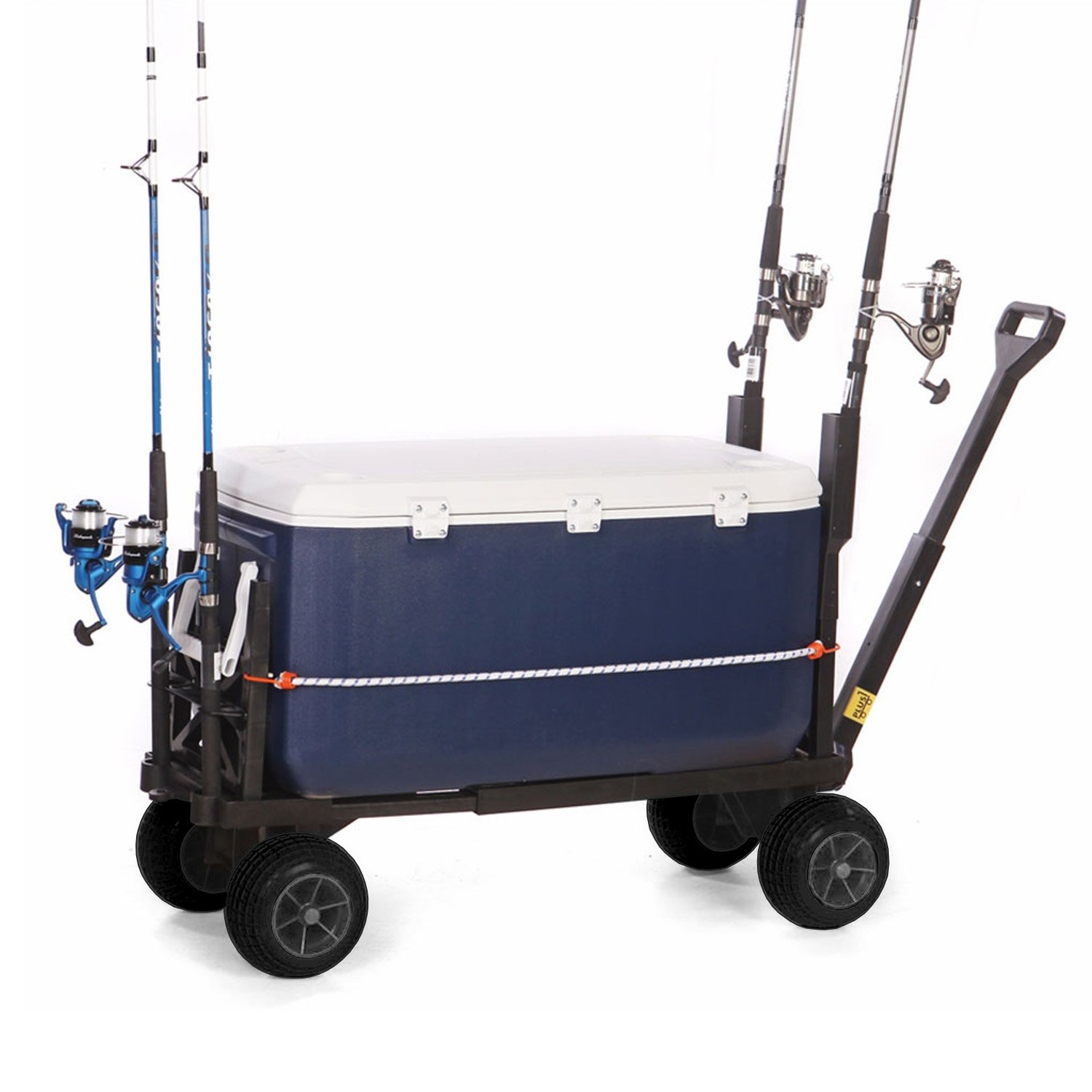 Mighty Max Plus One Multipurpose Garden Fishing Sports Equipment Cart by Mighty Max Cart (Image #9)