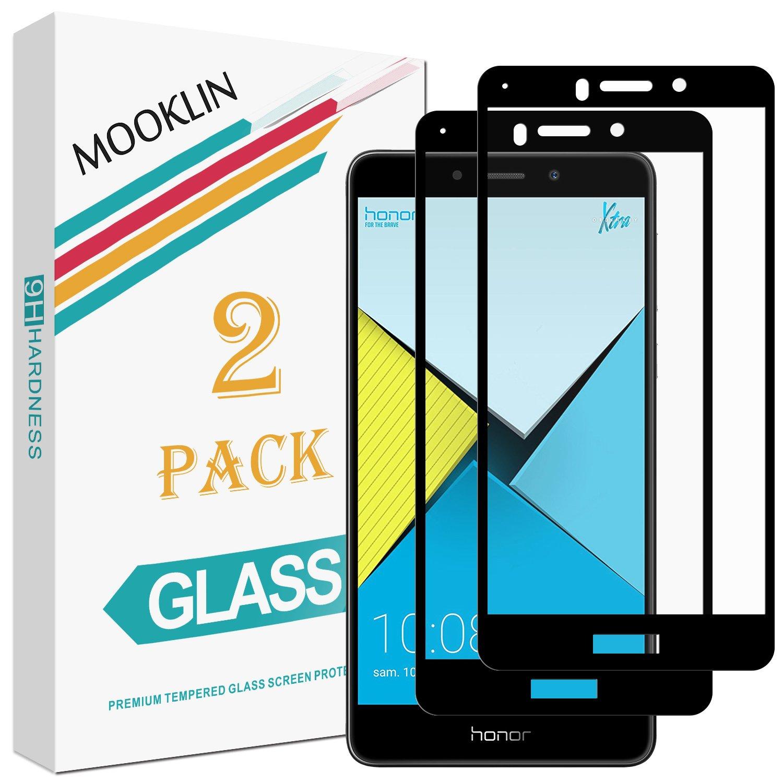 MOOKLIN Huawei Honor 6X Protector de Pantalla,[2 Piezas ...