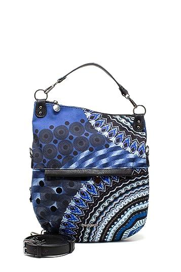 Amazon.com: Desigual Mujer Bols azul amigo doblado 19waxa13 ...