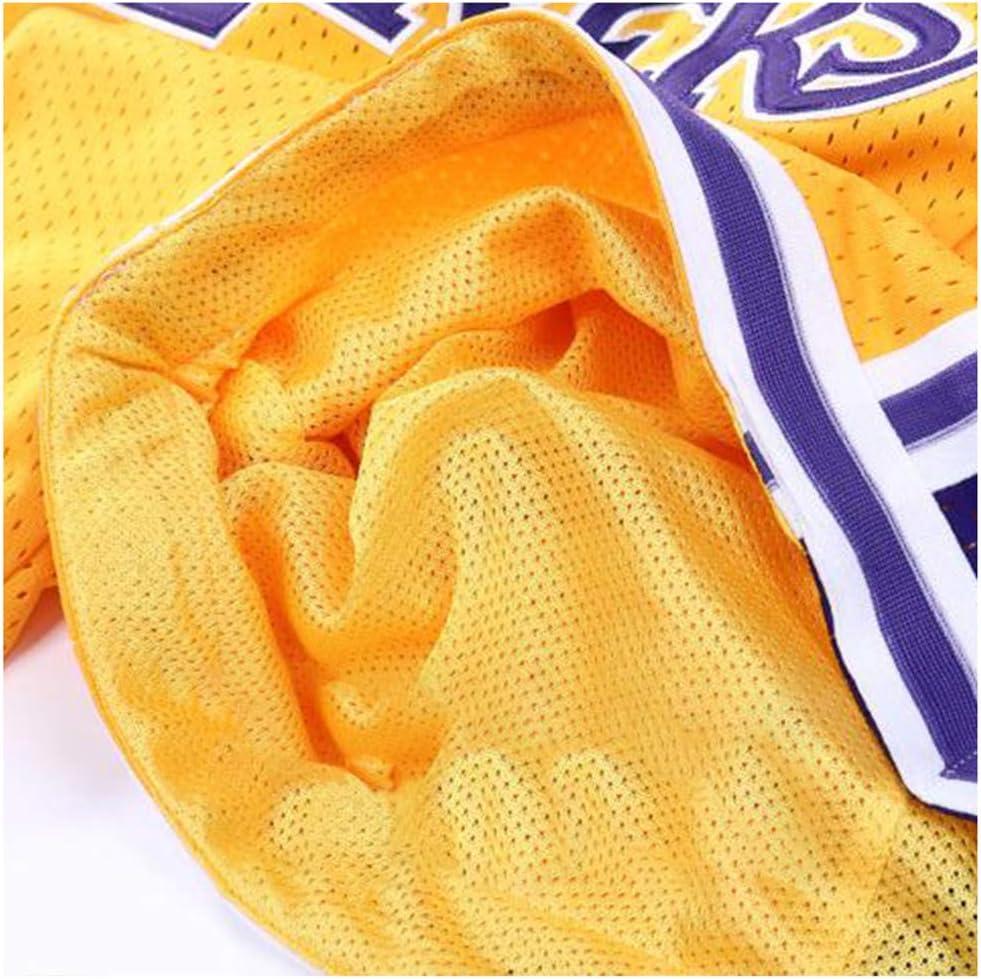 NBA Lakers James//Kobe Bryant MiSide Pantalones Cortos de Baloncesto Pantalones de Baloncesto de Malla Retro