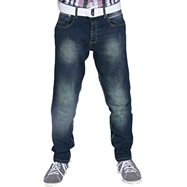 bacbc2732ec6 newfacelook New Men s Fashion Designer Slim FIt Casual Denim Mens Jean  Jeans Pants Trousers