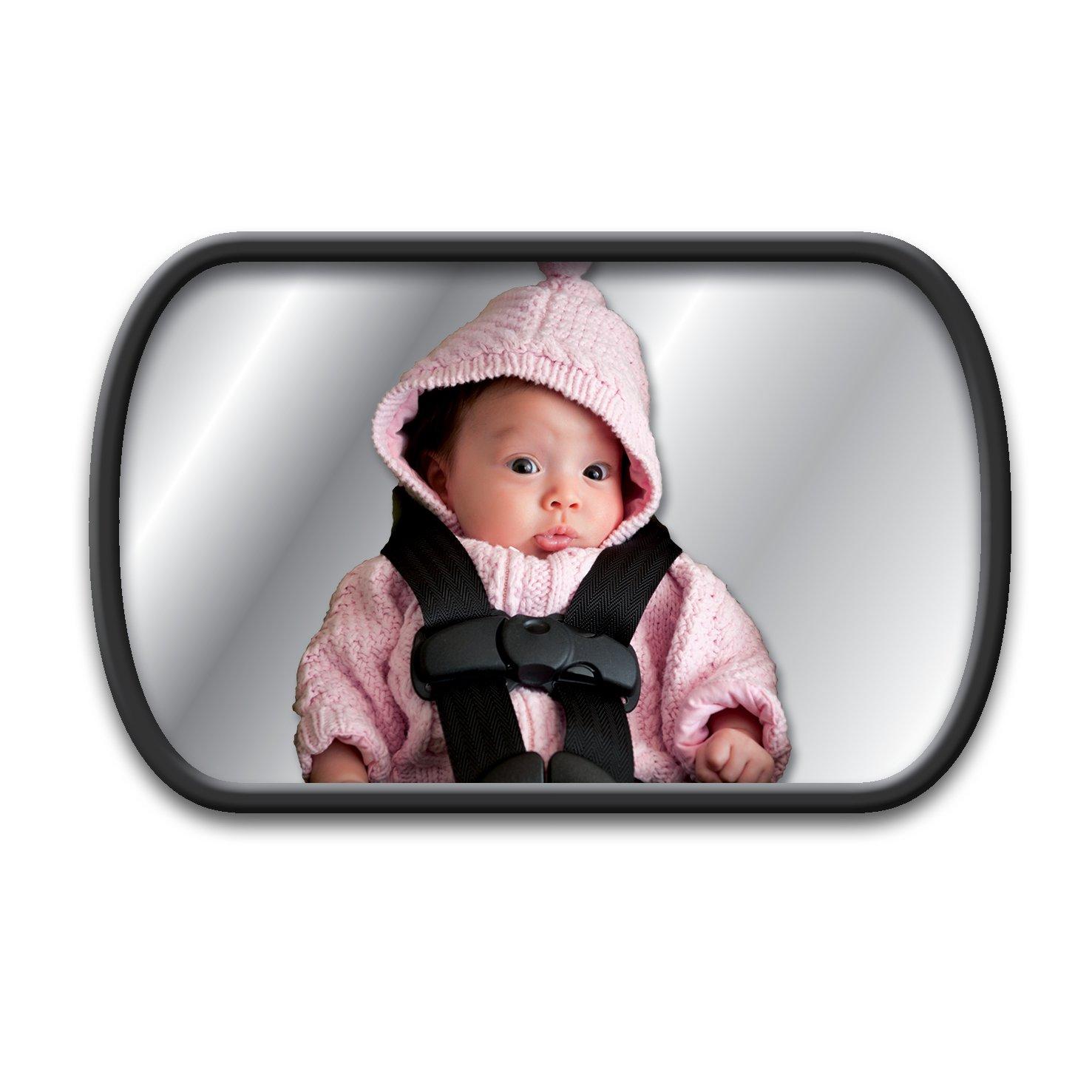 Espejo para el asiento trasero para bebés con 2variantes de fijación Lina M. ® SP2222ES
