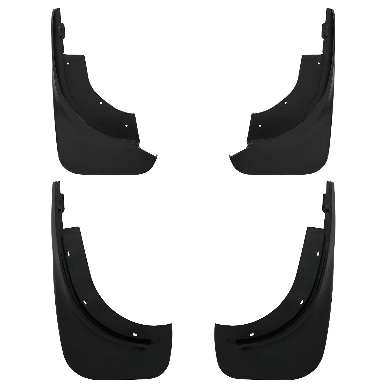 4X [pro.tec] Passform Schmutzfä nger (fü r vorne und hinten) Splitterschutz/Passgenau / Nachrü st - Set/Fahrzeug spezifisch