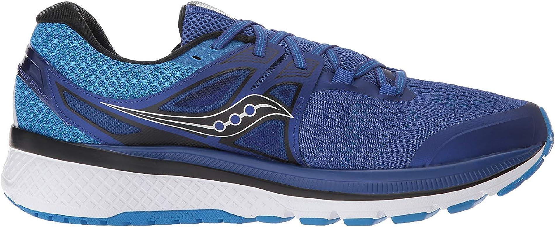 Saucony Triumph Iso 3 Zapatillas de correr para hombre, color Azul, talla 43 EU: Amazon.es: Zapatos y complementos