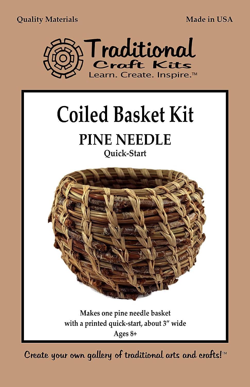 6 pine needle basket base Dragonfly #24