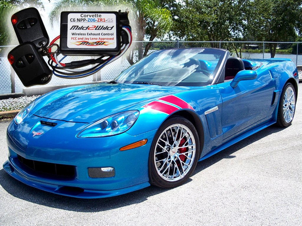 Grand Sport Registry 2006 2013 C6 Corvette Mild 2 Wild Fuse Box Harness Exhaust Remote Control Automotive