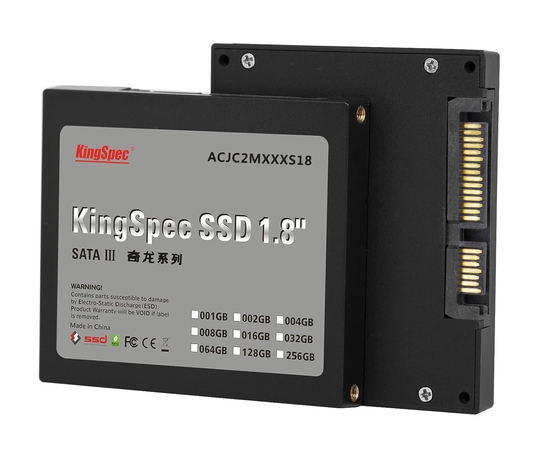 128GB KingSpec disco de estado sólido SSD de 1,8 pulgadas SATA III ...