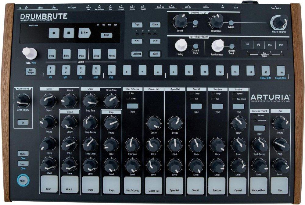 Arturia DrumBrute Analog Drum Machine (Certified Refurbished) by Arturia