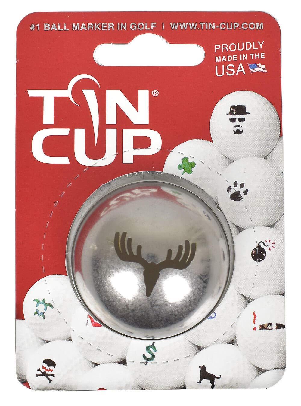Tin Cup ゴルフボールマーカー   B07KRGFRDN