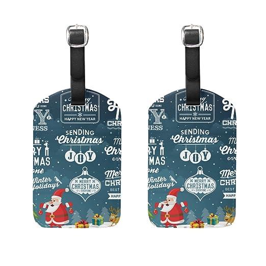 COOSUN Colección de la decoración de Navidad Etiquetas de ...