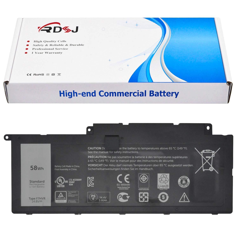 Bateria F7HVR T2T3J Dell Inspiron 15 7000 7537 7548 5547 17