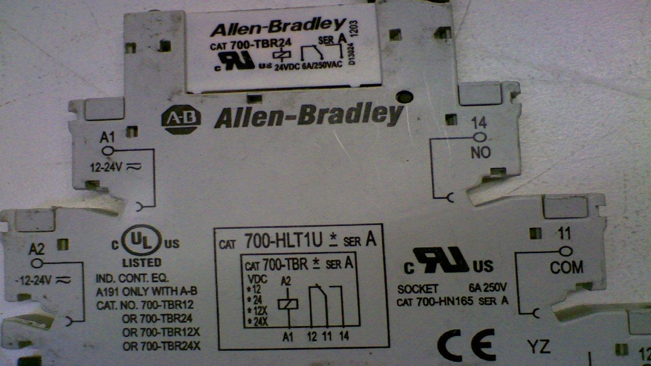 71fUb6uuT5L._SL1280_ allen bradley 700 hlt1u terminal block electromechanic relay  at readyjetset.co