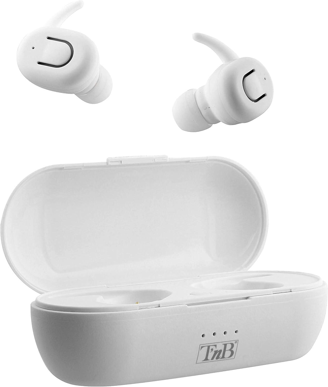Dude - Auriculares inalámbricos con Bluetooth 5.0, Color Blanco