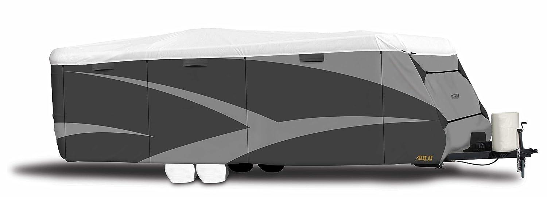 ADCO  34845 Designer Series Gray/White 28' 7' - 31' 6' DuPont Tyvek Travel Trailer Cover