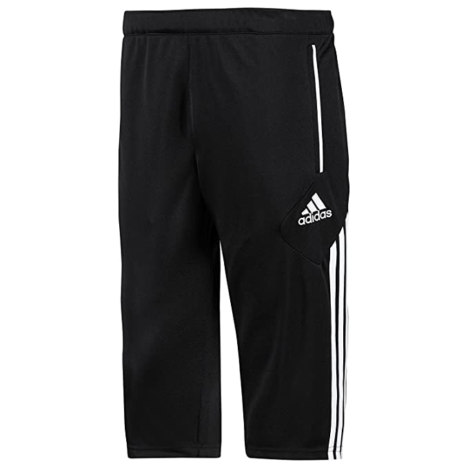 Amazon.com  adidas Condivo 12 Youth 3 4 Pants Black  Clothing 294b5ffbae415