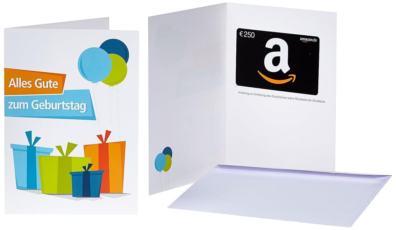 Amazon.de Geschenkkarte in Grußkarte - mit kostenloser Lieferung per Post Amazon EU S.à.r.l.
