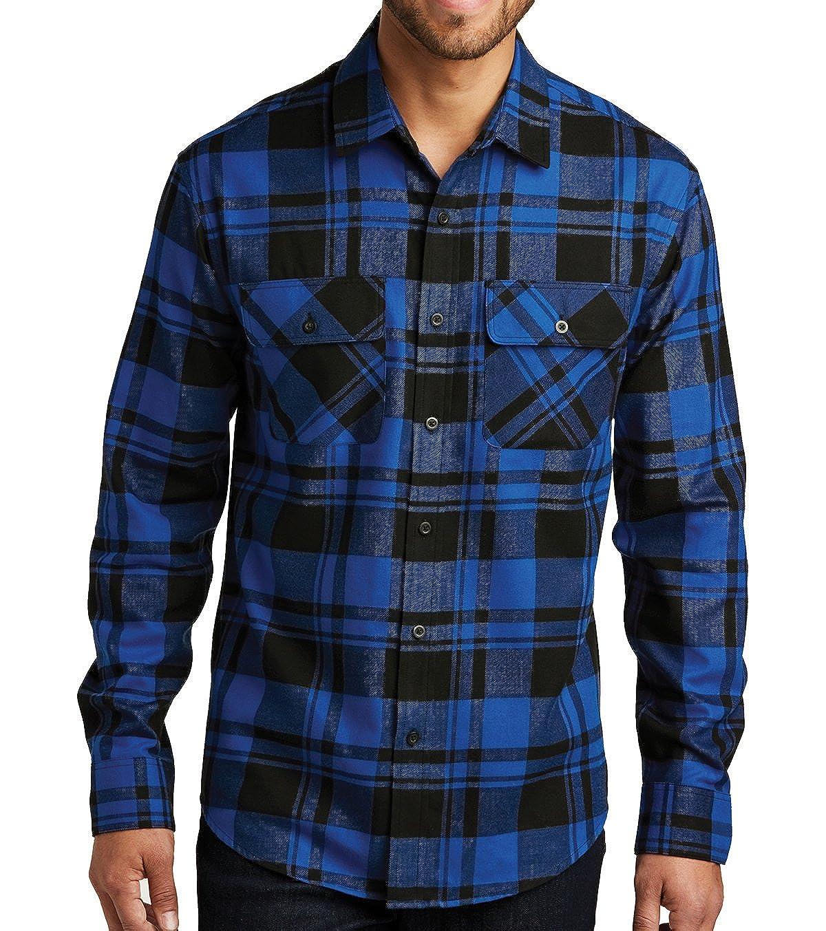 Mafoose Brawny Flannel Plaid Shirt