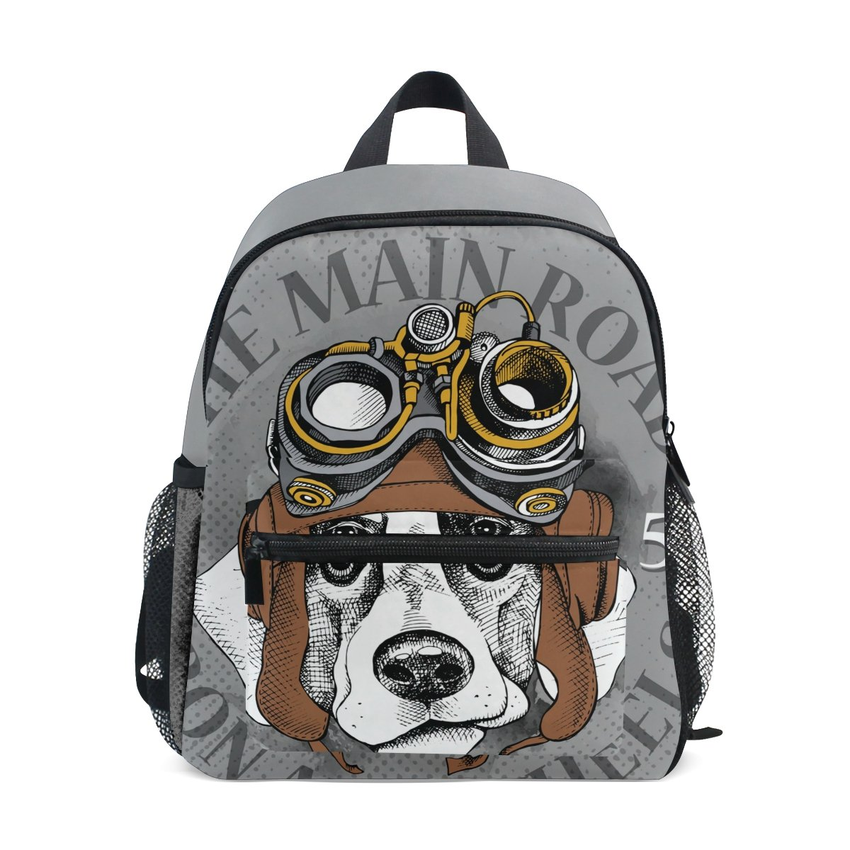 6eedc5c37a8a Amazon.com | Hengpai Cool Dog Design Printed Kids School Backpacks ...