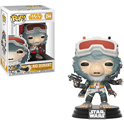 "Rio Durant Star Wars""Solo"" #244 Funko Pop!: Jon Favreau: Entertainment Collectibles"