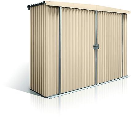 Amazon com : Stratco Storage Shed Locker - 9 5 ft x 2 8 ft x