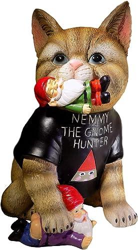 SUBURBAN OFF GRID   Nemmy The Gnome Hunter   Housewarming Cat Gift