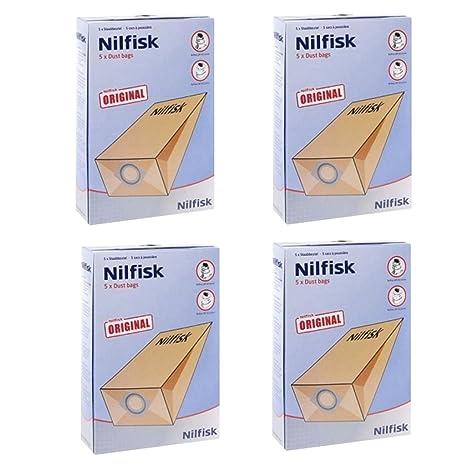 Nilfisk G90 GM80 GM90 - Bolsas para aspiradora (20 Unidades ...