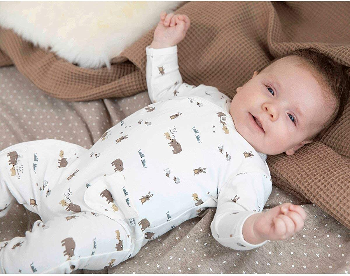 Feetje Baby-Unisex Overall mit Kappfu/ß Happy