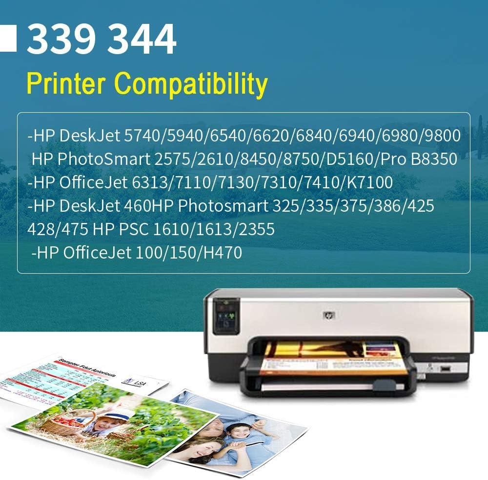 YWSS Remanufacturado Cartucho de Tinta para HP 339 HP339 Alto ...