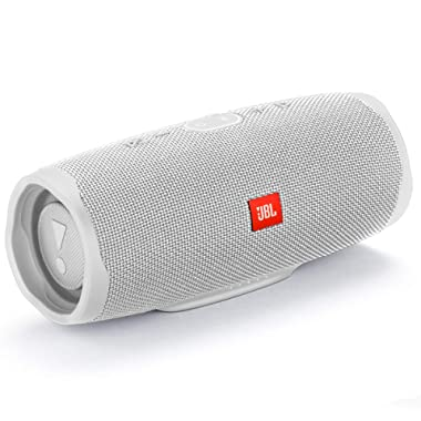 JBL Charge 4 Waterproof Portable Bluetooth Speaker- White