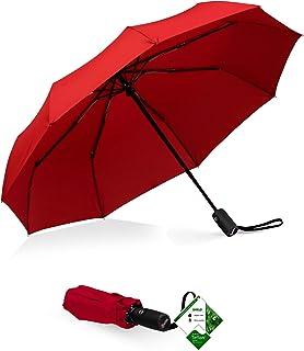 Repel Windproof Travel Umbrella with Teflon Coating (Red) 0cf2a3434cbe0