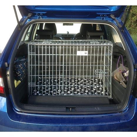 Pet World UK Jaula de Viaje para Perro con diseño de Mascota en el ...