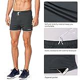 """Baleaf Men's 3"""" Bodybuilding Workout Shorts"""