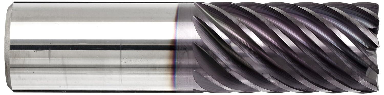 0.25 Shank Diameter Non-Center Cutting Plain Finish 2 Flutes Finishing Cut Guhring 3174 Carbide Square Nose End Mill 0.25 Cutting Diameter 2.5 Overall Length 45 Deg Helix