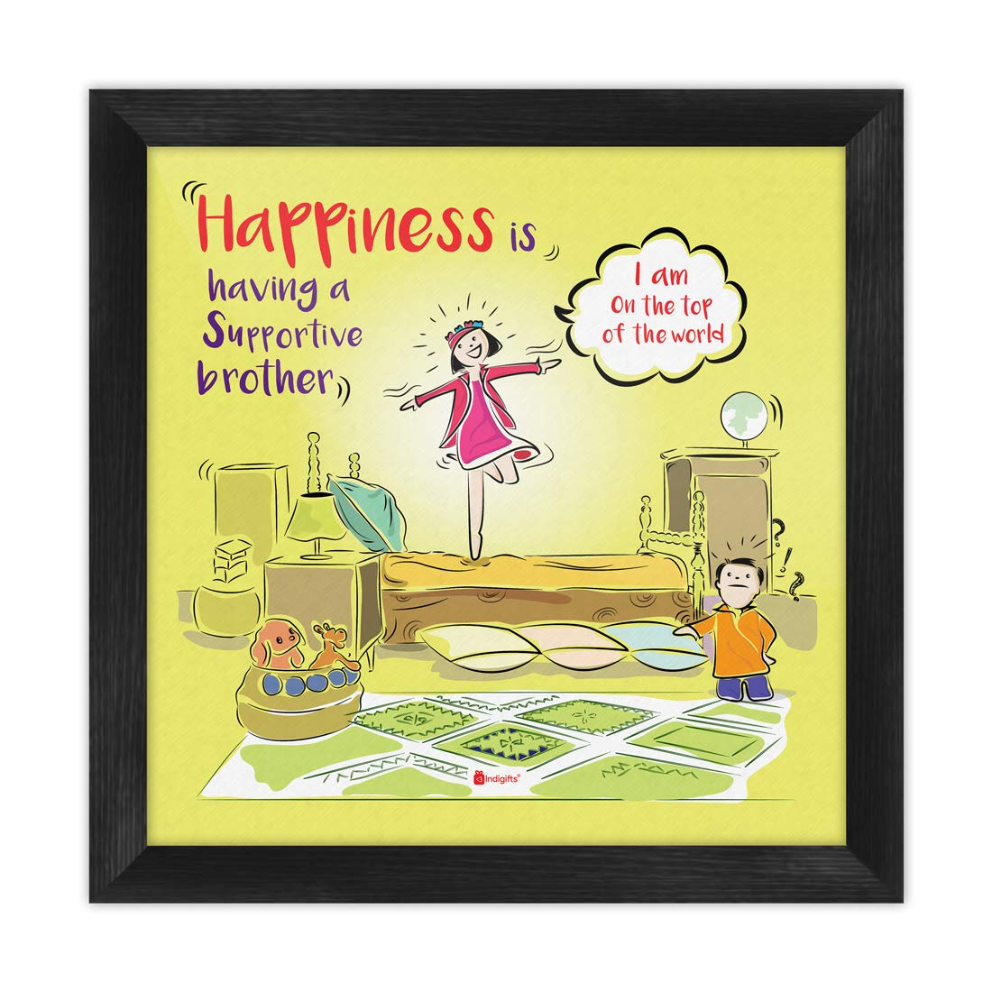 Indi ts Rakshabandhan Gifts for Brother Happiness Is