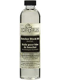 Fox Run Brands 3118 Butcher Block Oil, Clear