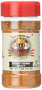 Flavor God #1 Best-Selling, Spicy Everything Seasoning, 1 Bottle, 5 Ounce