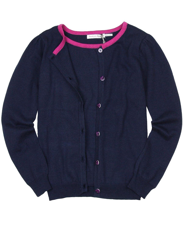 Sizes 4-12 Deux par Deux Girls Knit Cardigan Rock n Rose