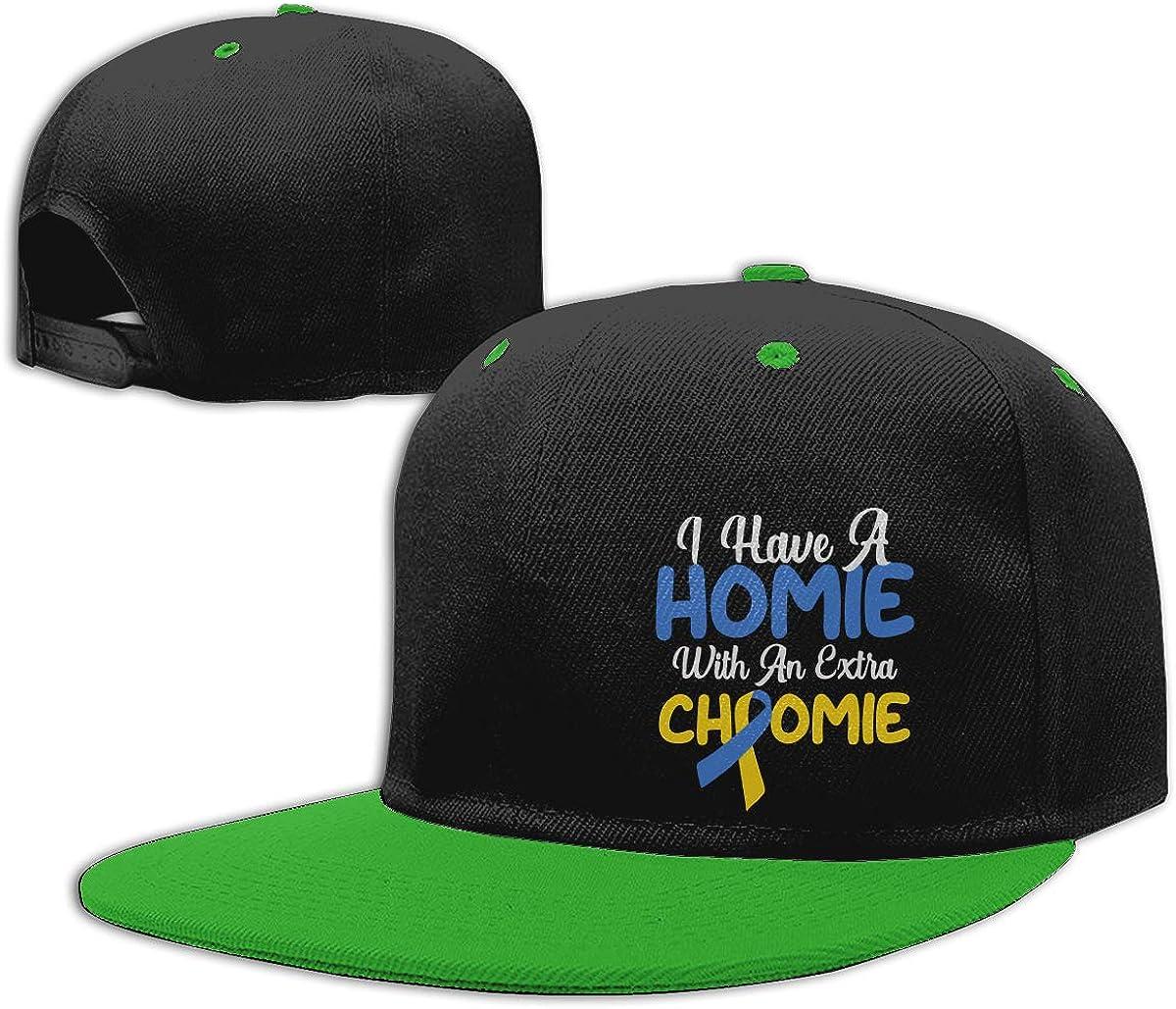 Down Syndrome Unisex Hip Hop Baseball Caps Men Womens Punk Rock Cap