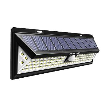 Version Puissante Mpow 102 Led Eclairage Solaire Exterieur Lampe