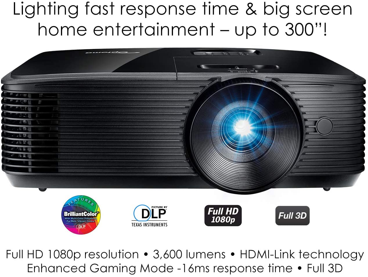 5 Best Projector for Gaming Under 500 [Guide 2021] 2