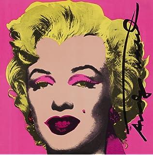 Andy Warhol Marilyn Monroe Pink Kunstdruck Auf Leinwand Retro Diva
