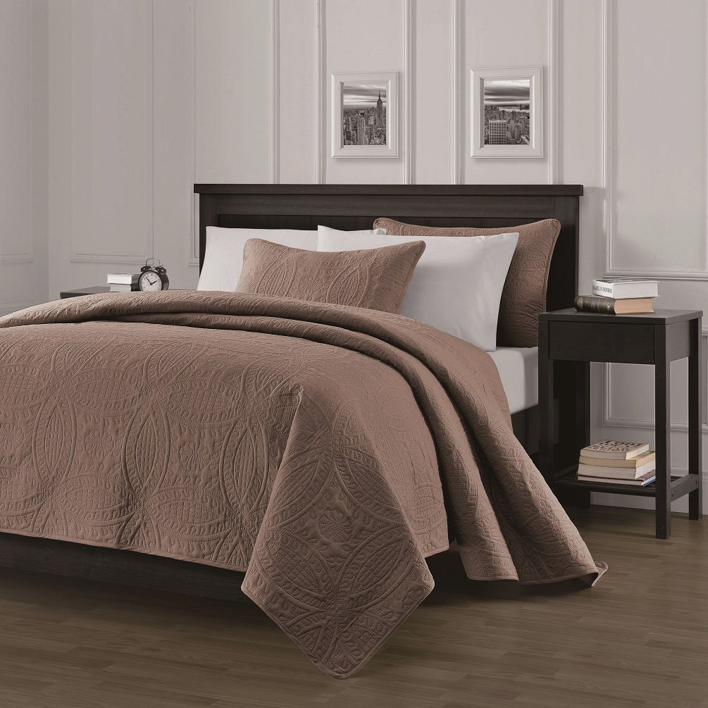 Chezmoi Collection Austin 3-piece Oversized Bedspread