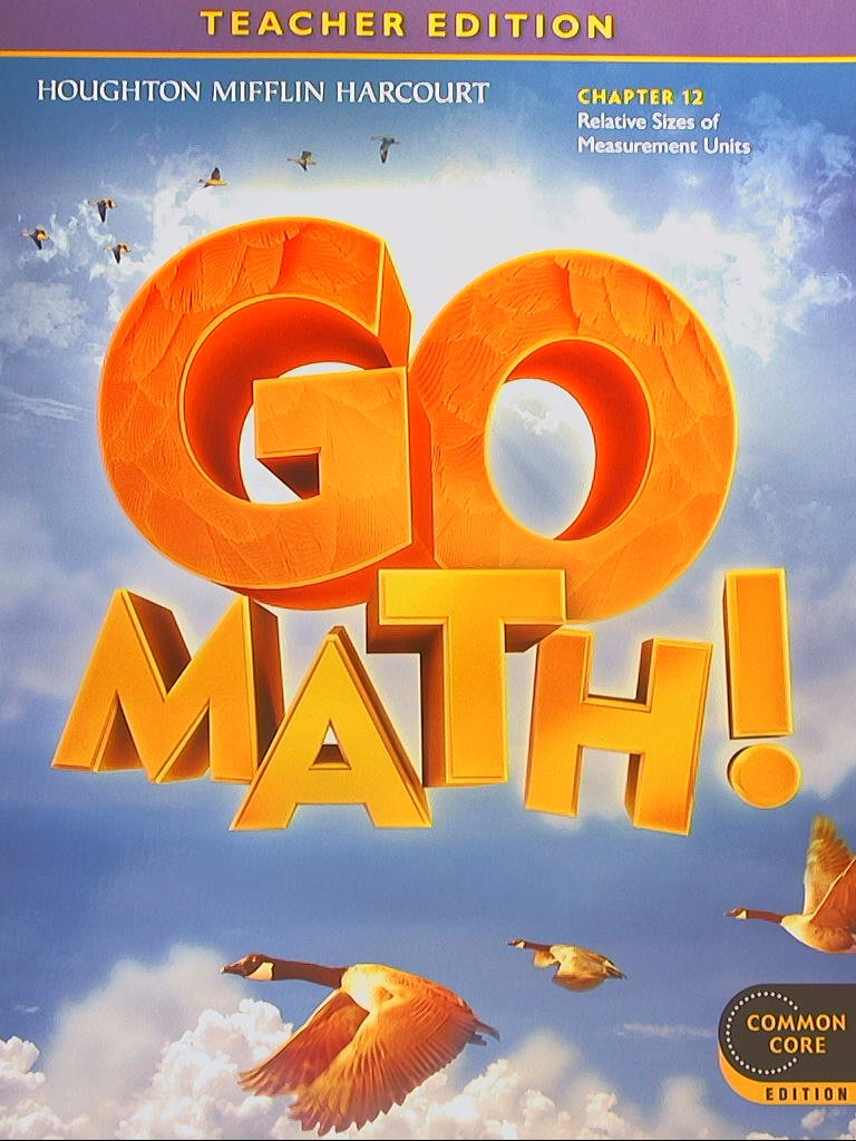Amazon.com: GO MATH! Common Core Teacher Edition, Grade 4 Chapter 12 ...